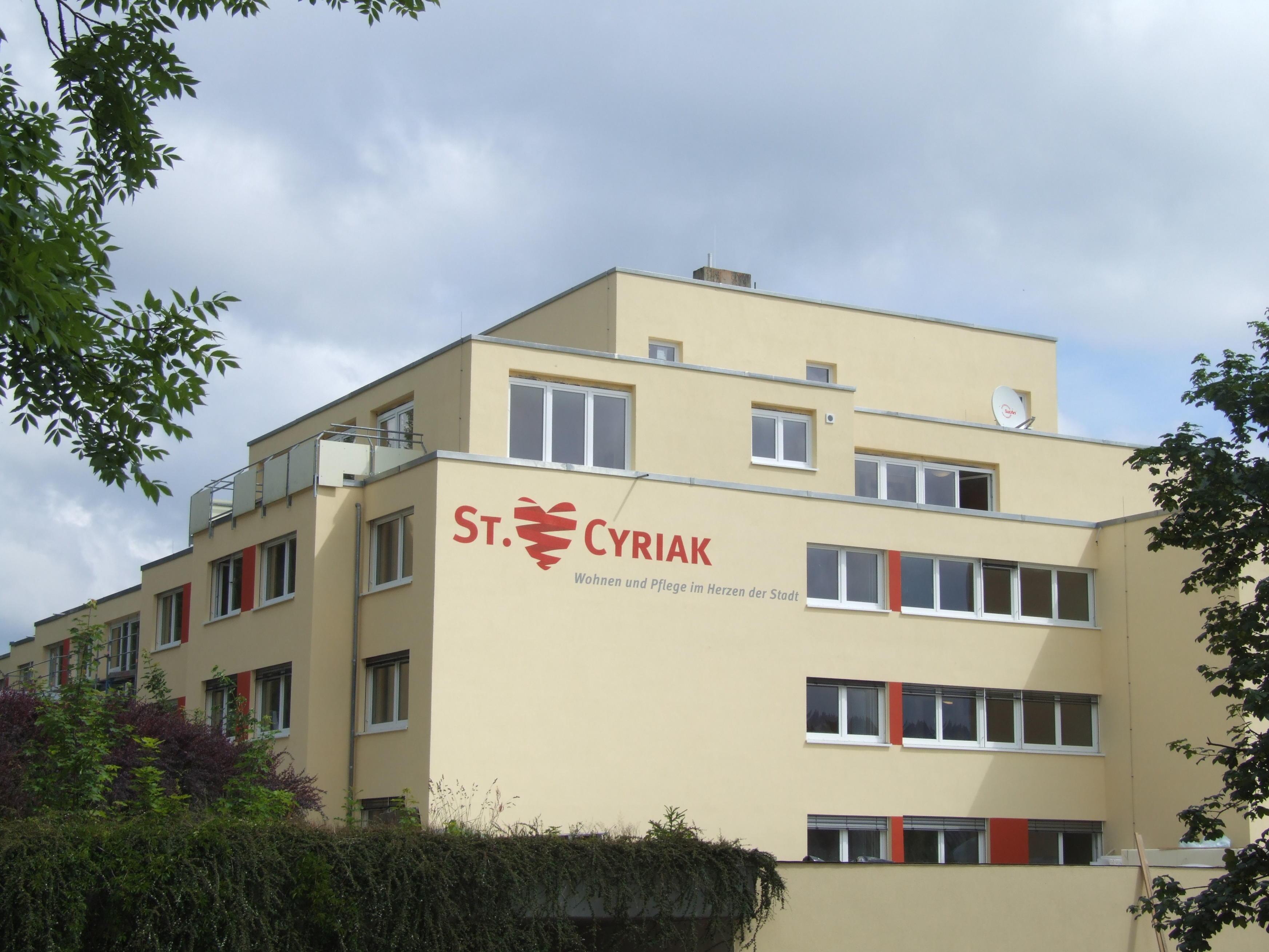 St. Cyriak, Wohnen und Pflege im Herzen der Stadt