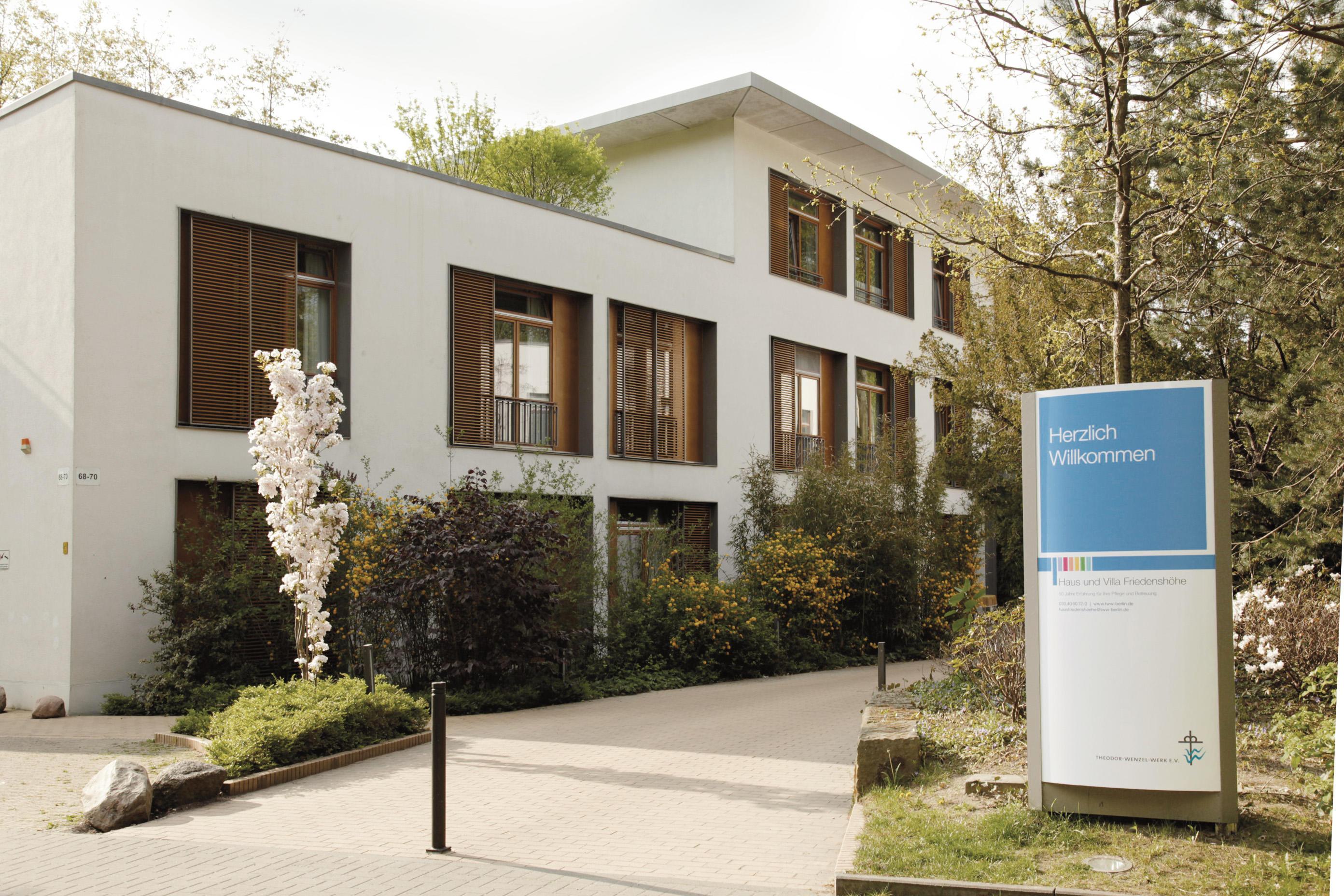 Haus Friedensh�he, Ev. stat. Pflegeeinrichtung