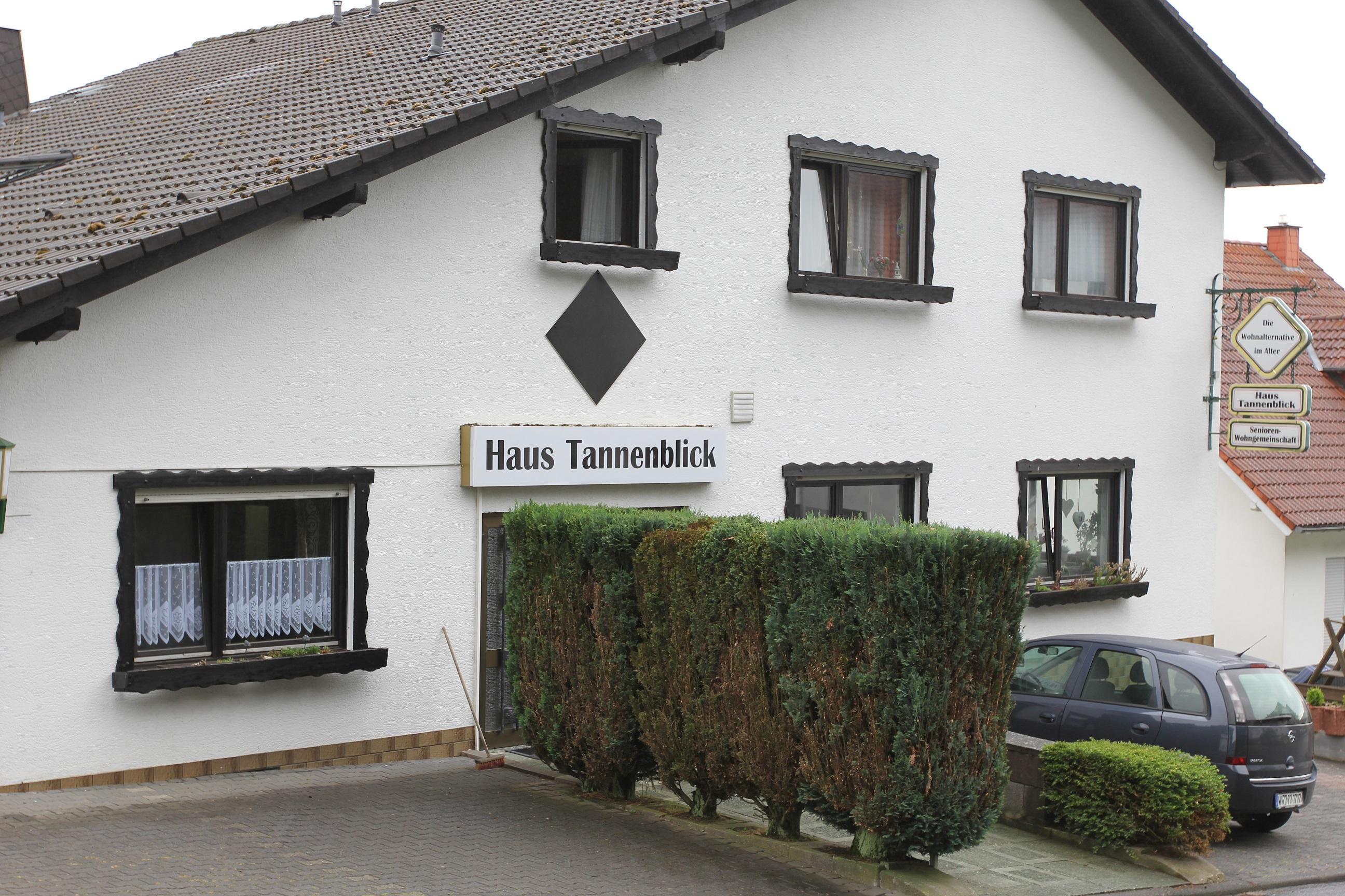 Senioren-Wohngemeinschaft Haus Tannenblick